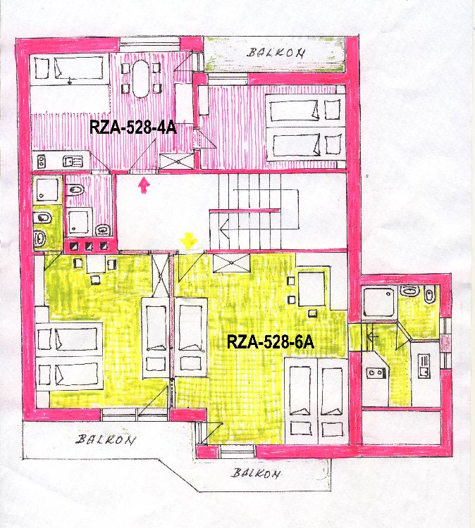 appartement Tsjechie wintersport Reuzengebergte:     RZA-528-4A (nr. 15)